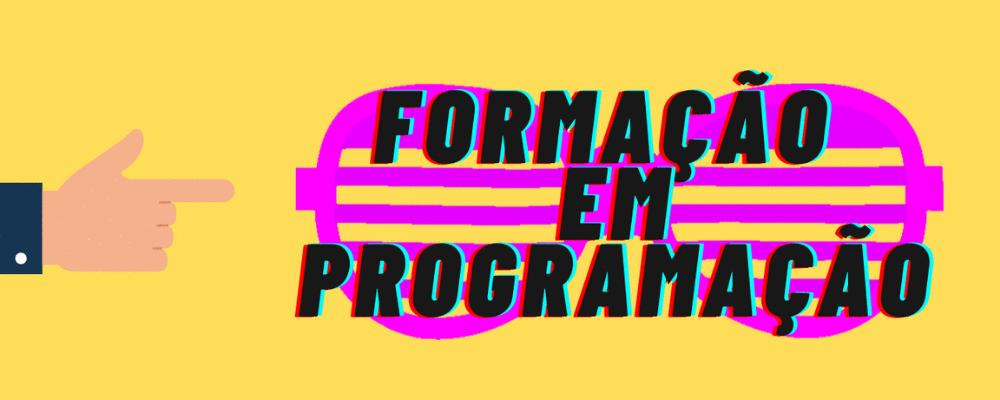 [VAGA] Formação em Programação